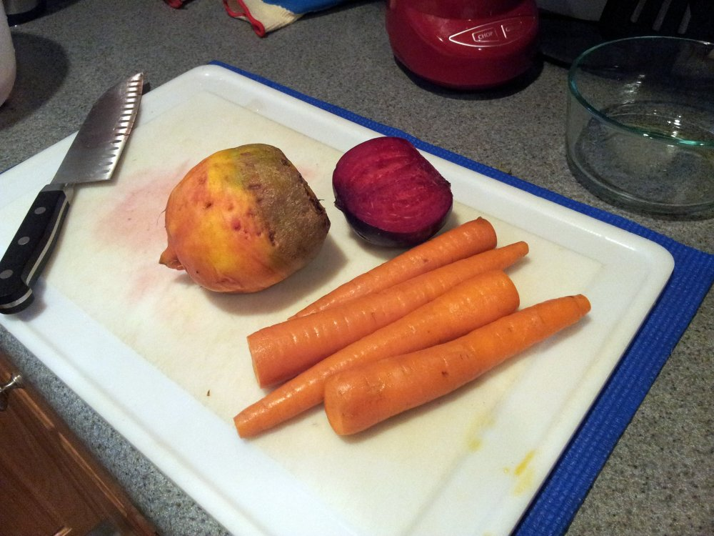 Roasted Beets & Carrots (2/4)