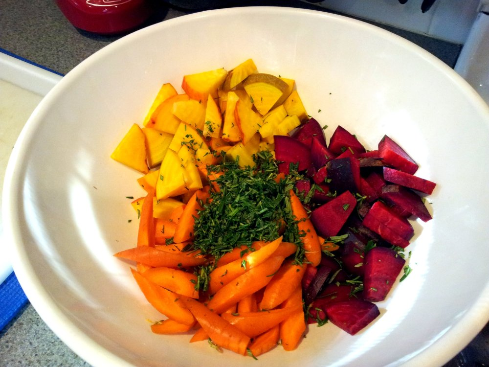 Roasted Beets & Carrots (4/4)