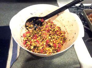 Corn Salad mixture
