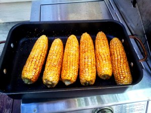 Corn with dressing