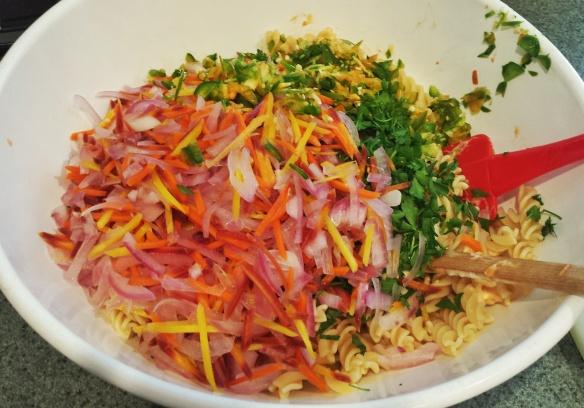 Pre-mixed Pasta Salad