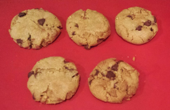 Double Peanut Butter Chocolate Chip Cookies